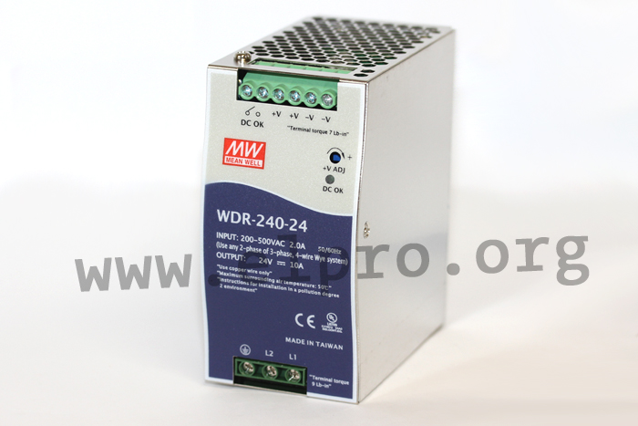 Meanwell WDR-240 Serie