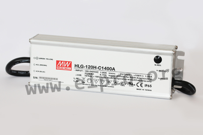 MeanWell HLG-120H-C Serie