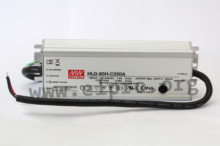 MeanWell HLG-80H Serie