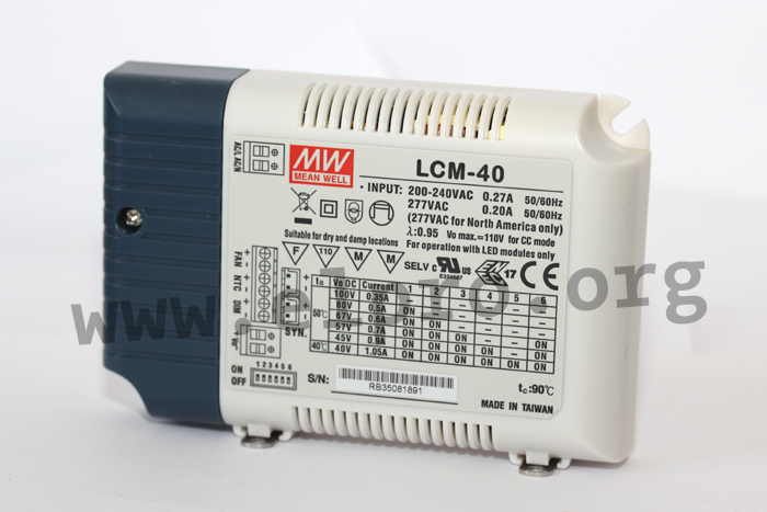 Meanwell LCM-40 Serie