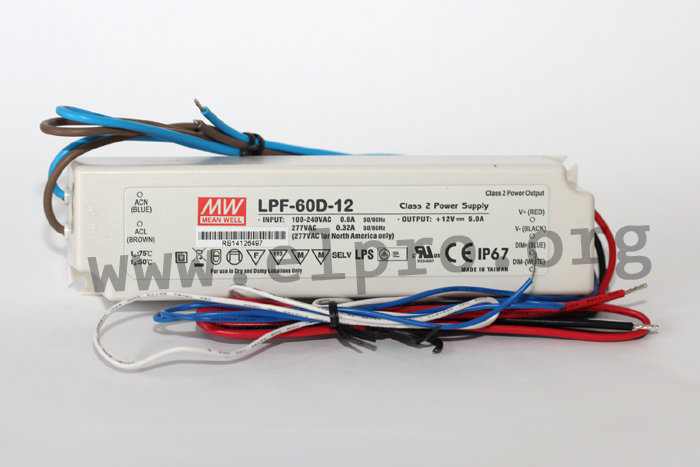 Meanwell LPF-60D Serie