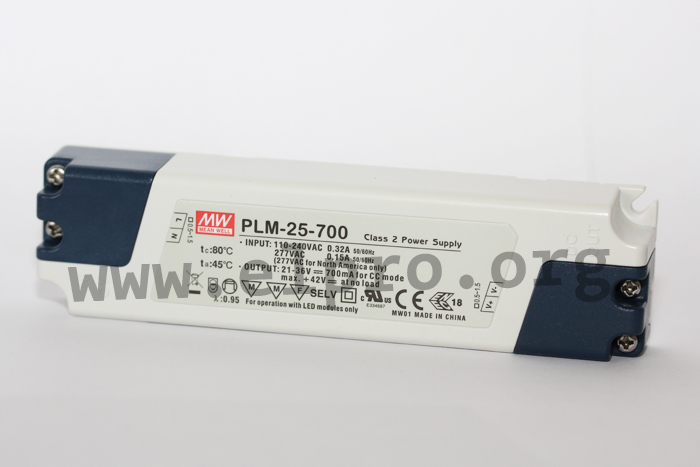 Meanwell PLM-25 Serie