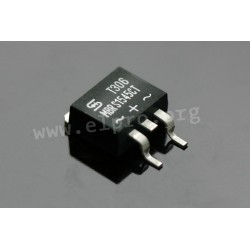 MBRS 1545 CT SMD