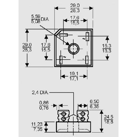 dimensions B _ C 15000 FS