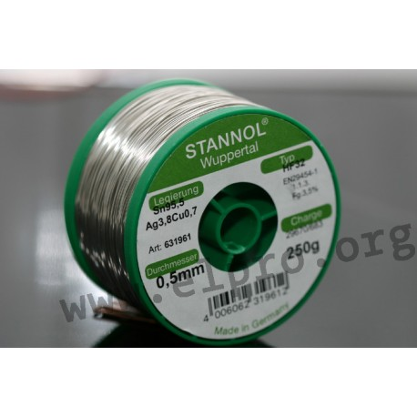 Stannol series HF 32 TSC