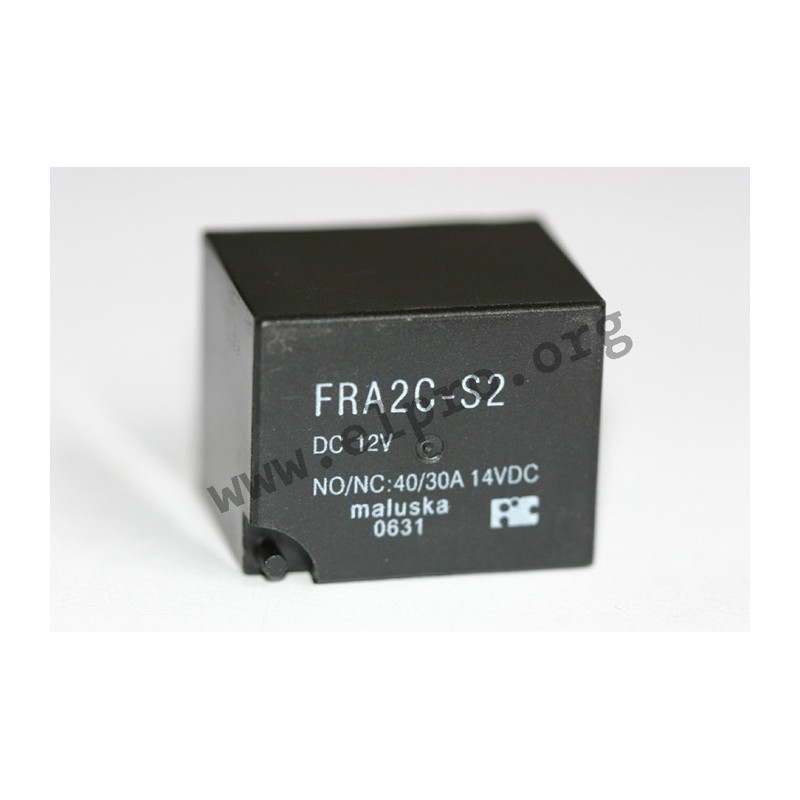 FRA 2 C-S2 12V, high-current relays 30A, 1 changeover contact, by ...