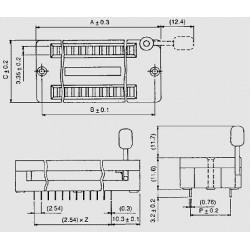 dimensions TEX 24, TEX 28, TEX 32