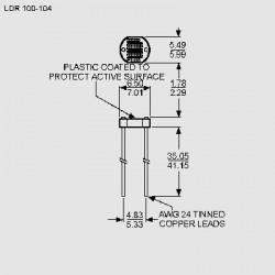 Abmessungen LDR 100 - LDR 104, VT83_