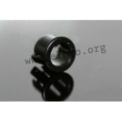 Clip 5 mm schwarz