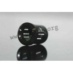 Clip 8 mm schwarz