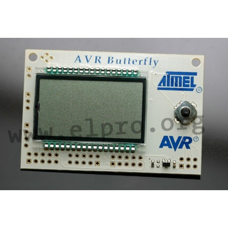EVU AVR-erfly, evaluation boards for Atmel - elpro Elektronik