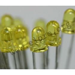 3mm, gelb, transparent