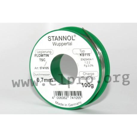 Stannol series KS115 TSC
