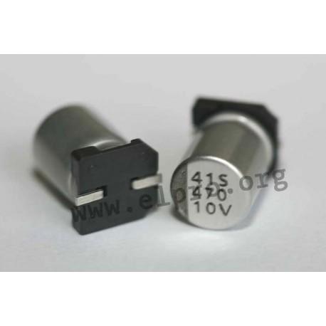 E-SMD 100 V 4,7 µF