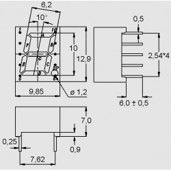 dimensions 7 _ 1x10 A/K