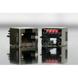 dimensions RJ 45 TEV