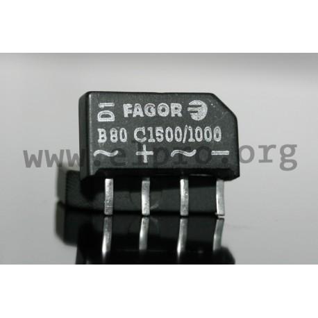 B80C1500//1000 BRIDGE RECTIFIER FAGOR