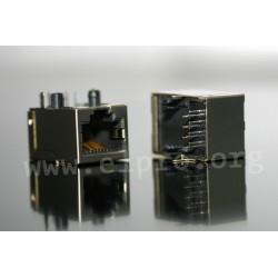 dimensions RJ 45 PCV