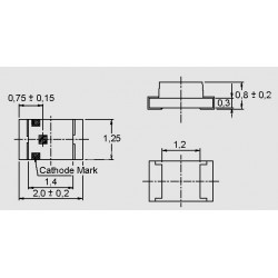 dimensions LTST-C171_KT