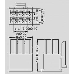 dimensions 87 H 302X1B