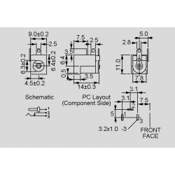 dimensions DC-10 A and DC-10 B
