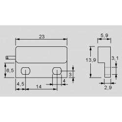 Abmessungen MK4-1A66B-500W