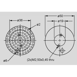 Abmessungen LPF5030-BRI-ESS-B