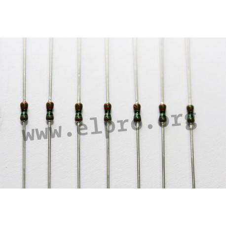 Metallschicht-Widerstand 560 kOhm 1/% 0,4W Bauform 0204 gegurtet
