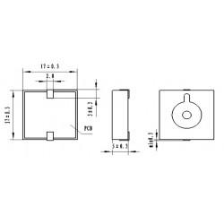 dimensions PT-1740 MQ