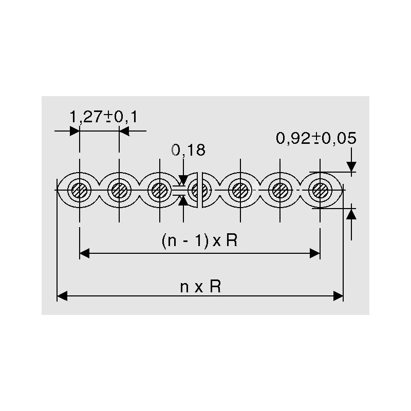AWG 28-14 FR, AWG28, regenbogenfarbig - elpro Elektronik