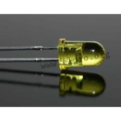5mm, gelb, transparent