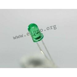 5mm, grün, transparent