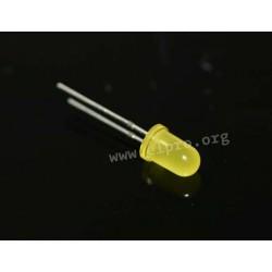 5mm, gelb, diffus