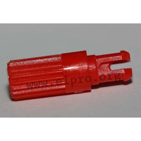 Steckachse 11,7mm rot