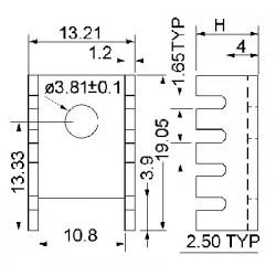 dimensions KS/KB