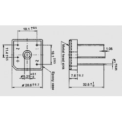 dimensions B _ C 25000 DR