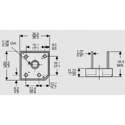 dimensions B _ C 15000 DR
