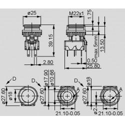 dimensions MSM 22