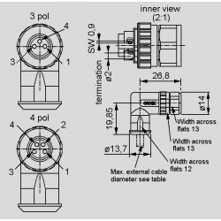 dimensions SAL-8-RKWC_