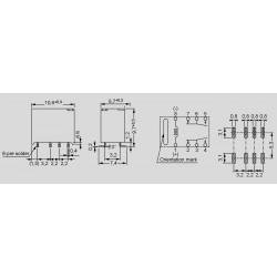 Abmessungen, Lochbild und Schaltbild FTR-B4G_