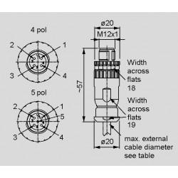 Abmessungen SAL-12S-RSC_