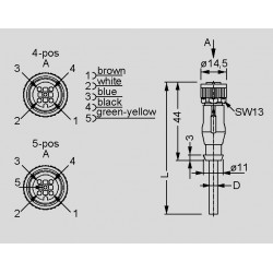 dimensions SAL-12-RK_