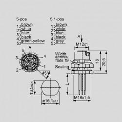 dimensions SAL-12-FKH_