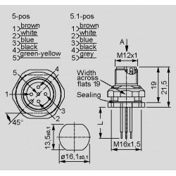 dimensions SAL-12-FSH_