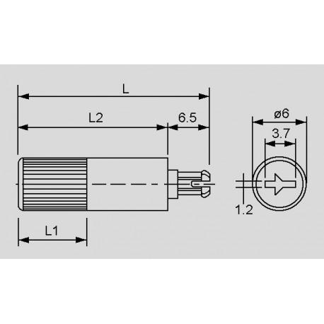 Abmessungen Steckachse CA14