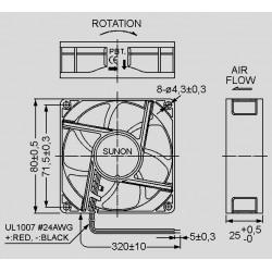 dimensions GE 80252_