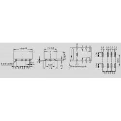 Abmessungen, Lochbild und Schaltbild FTR-B3S_
