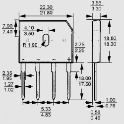 GBU 805 C2G