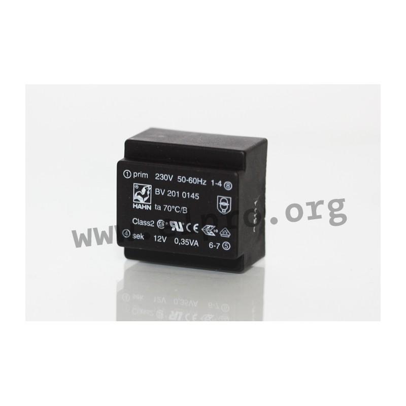 230 V 9 V Print Trasformatore-Hahn-BV uovo 305 2051-3 a 334 ma