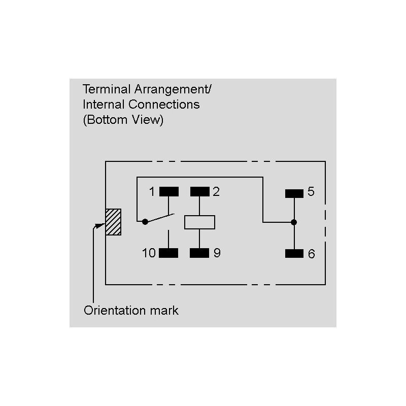 gv v pcb relays a changeover contact by omron elpro circuit diagram g5v 1 12v g5v1 12vdc